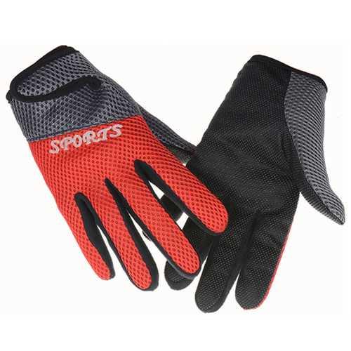 Anti-Slip Breathable Motorcycle Racing Sport Full Finger Gloves