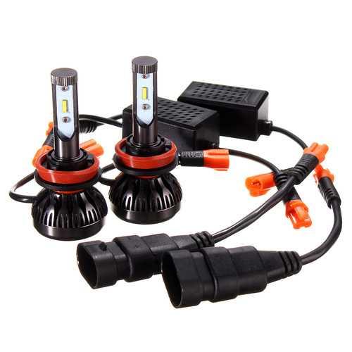 12-30V 9005/9006 Bulbs 6000K White Headlight Fog Lights IP67 2.4A