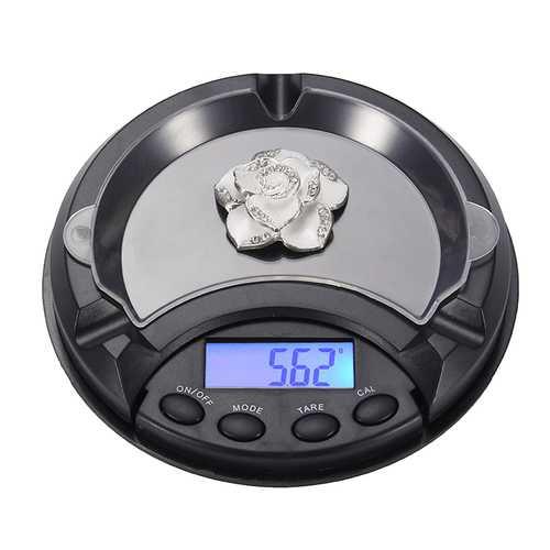 0.1/0.01 Mini Ashtray Pocket Portable Jewelry Scale CE Certification