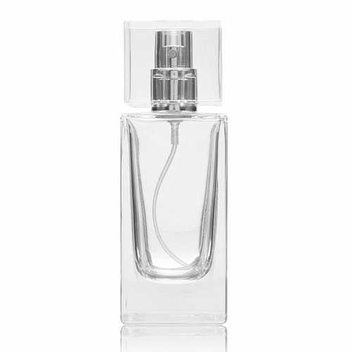 Refillable Empty Perfume Spray Container Bottle Glass Fragrance Aroma Atomizer Travel 50ml
