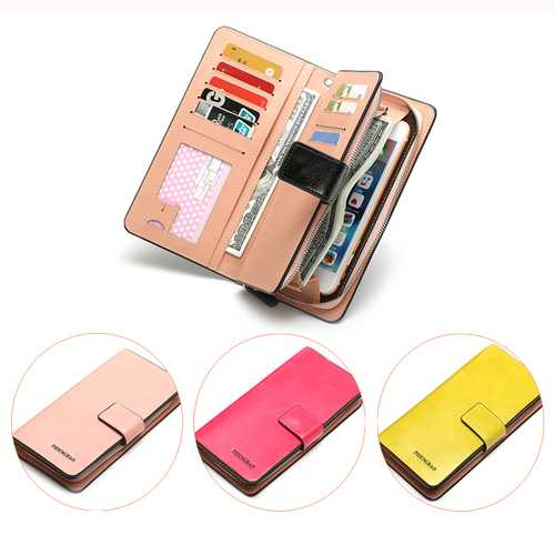 6 Inches Cell Phone Women 12 Card Slots Cell Phone Wallet