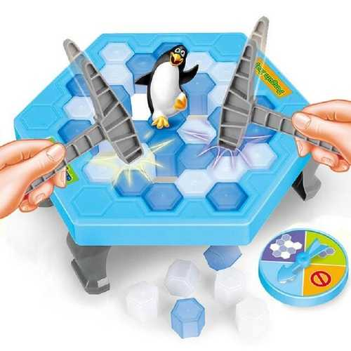 Ice Breaking Save The Penguin Great Family Fun Game For Christmas