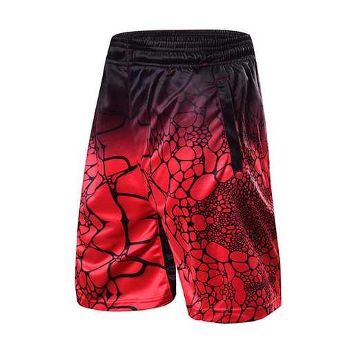 Basketball Training Running Sports Shorts Mens Breathable Fast Dry Leisure Shorts Pants