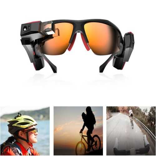 3D AR VR Goggles Sport Smart Glasses 13 Megapixel CMOS Camera With Bluetooth Function For XLOONG