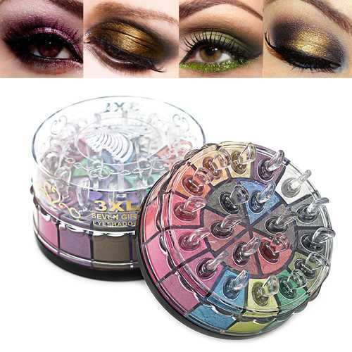 20 Colors Glitter Smoky Earth Color Eye Shadow Power