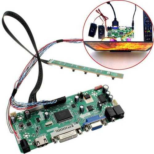 B156XW02 LCD Controller Board HD DVI VGA Audio PC Module Kit For 1366x768