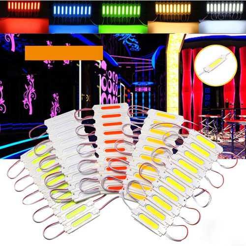 10 PCS Waterproof COB Injection LED Module Strip Light Window Store Front Lighting Lamp DC12V
