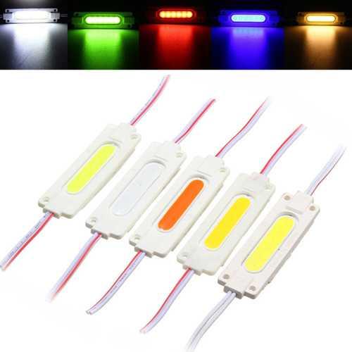 1W Waterproof COB Injection LED Module Strip Light Window Store Front Lighting Lamp DC12V