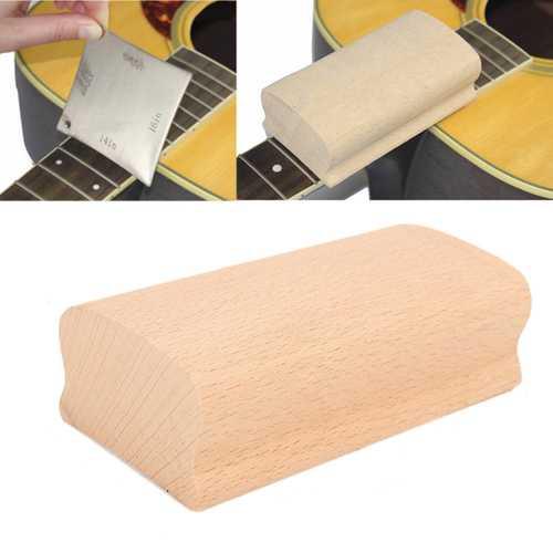12 Inch Radius Sanding Block Fret Leveling Finger Board Luthier Tool For Guitar Bass