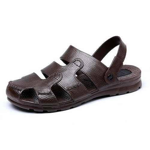 Men Beach Sandals Outdoor Flat Breathable Slipper