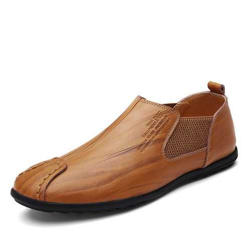 Banggood Shoes Men Genuine Leather Flat Oxfords