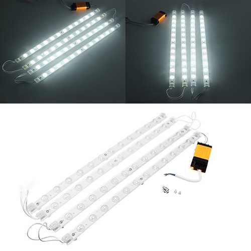3PCS/4PCS SMD2835 White LED Rigid Module Strip Light Indoor Lighting Lamp With Power Supply DC24-84V