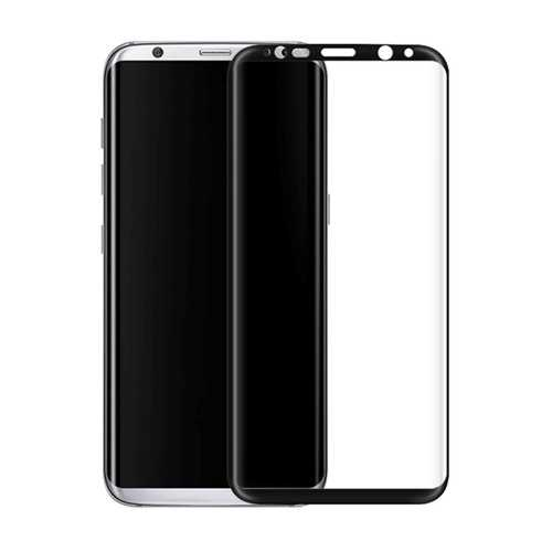 3D Arc Edge Colored Full Screen Cover Tempered Glass Screen Protector For Samsung Galaxy S8 Plus