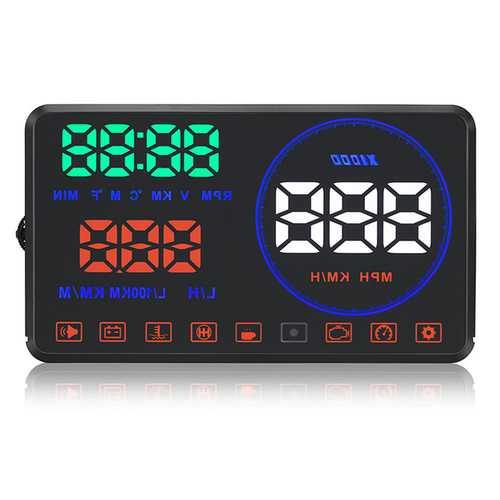 Geyiren M9 Car HUD Display Dual Core Car HUD Alarm Tool