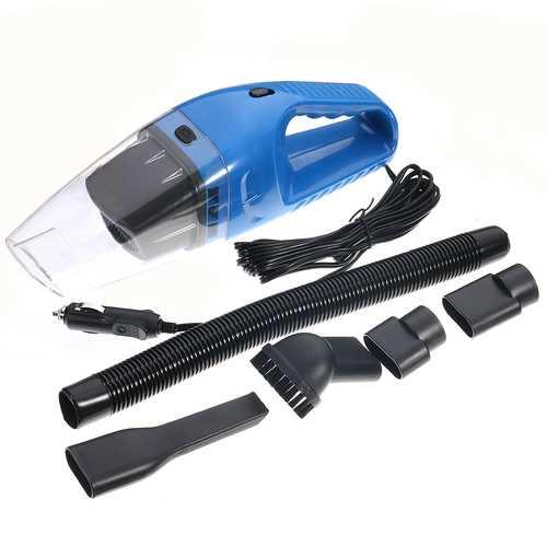 12V 120W Portable Wet & Dry Car Home Mini Handheld Vacuum Cleaner