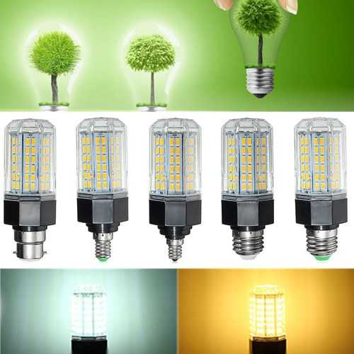 Dimmable E27 E14 B22 E26 E12 10W SMD5730 LED Corn Light Lamp Bulb AC110-265V