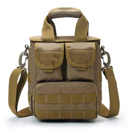 Men Tactical Bag Outdoor Travel Bag Camo Sport Shoulder Bag Handbag