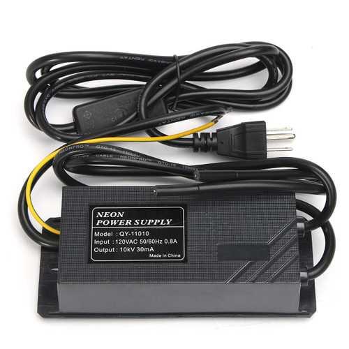 10KV 30mA Neon Light Transformer Electronic Power Supply