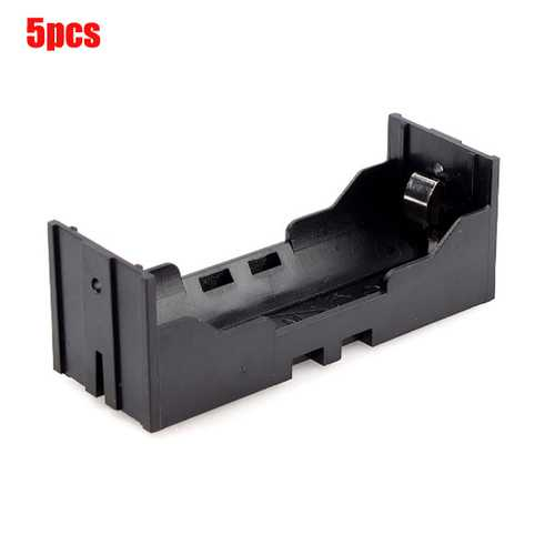 5pcs DIY Storage Box Holder Case For 26650 Li-ion Rechargeable Battery