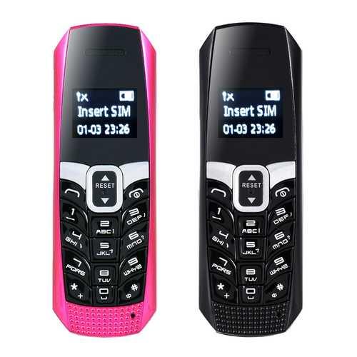 LONG-CZ T3 0.66'' 500mAh Voice Changer Vibration Smallest Smart Bluetooth Earphone Mini Card Phone