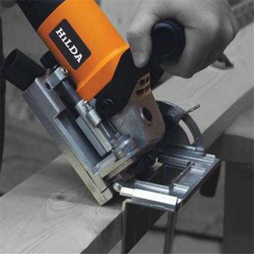 HILDA 760W Biscuit Jointer Wood Working Tenoning Machine Biscuit Machine Puzzle Machine Groover