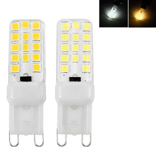 Dimmable G9 3.5W 2835 SMD Pure White Warm White LED Home Lighting Lamp Bulb AC220V