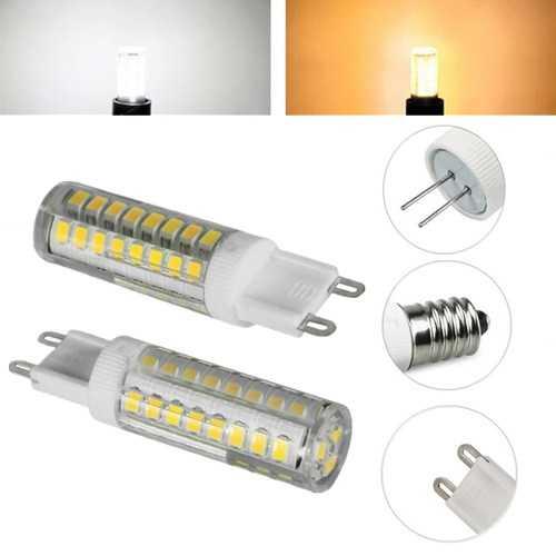 E14 G4 G9 5W 2835 SMD 52 LED Light Lamp Bulb for Indoor Home Decoration AC220V