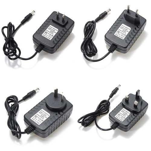 AC 110-240V To DC 6V 2A 12W Adapter Power Supply Converter AU/EU/US/UK Plug