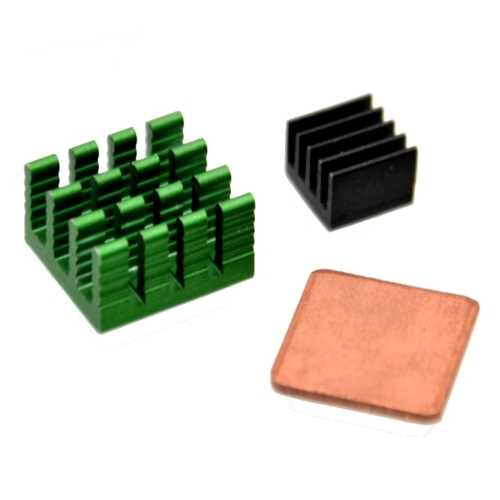 10 x Aluminum Heat Sink Kit With Coppor For Raspberry Pi 2 model B
