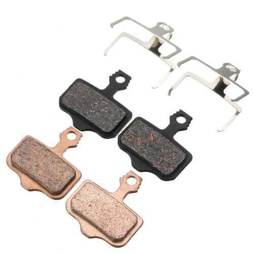 BIKIGHT 1 pair of Semi Metal / Sintering Disc Brake Pads Fit AVID ELIXIR R E1 E3 E5 XO XX