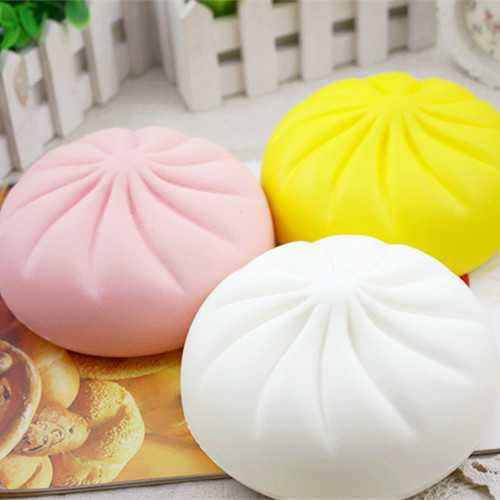 Jumbo Steamed Bun Squishy 15cm Slow Rising Scented Food Collection Decor Toy