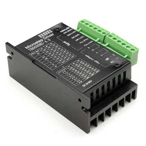 5PCS TB6600 Upgraded Version 32 Segments 4A 57/86 Stepper Motor Driver