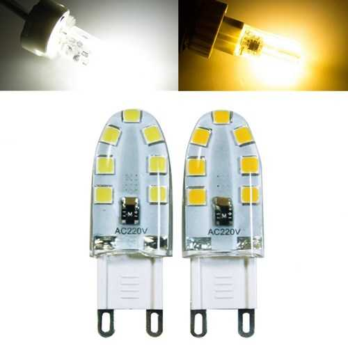 Dimmable G9 14LED 2W 2835SMD LED Light Bulb Replace Halogen Lamp AC220V