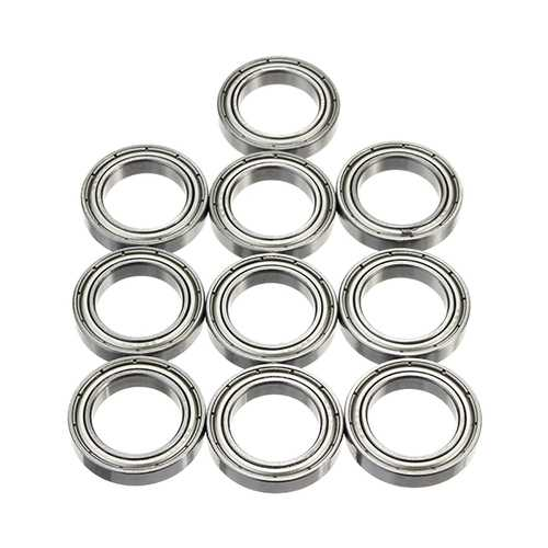 10pcs 6803ZZ 26mmx17mmx5mm Ball Bearings Deep Groove Ball Bearing