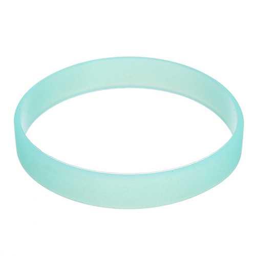 Luminous Multicolor Silicone Bracelet Sports Men Women Bracelets
