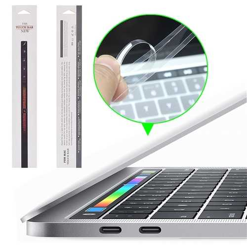 """PET HD Clear Touch Bar Protector Film For Macbook Pro Touch Bar 13""""/15"""" 2016"""