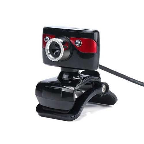 A886 360º Rotating 12.0M Pixels HD 2 LED lights Webcams for PC Laptop