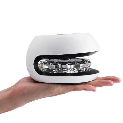 Car Air Purifier Solar Energy Aroma Air Cleaner Negative Ions Effectively Purify Air