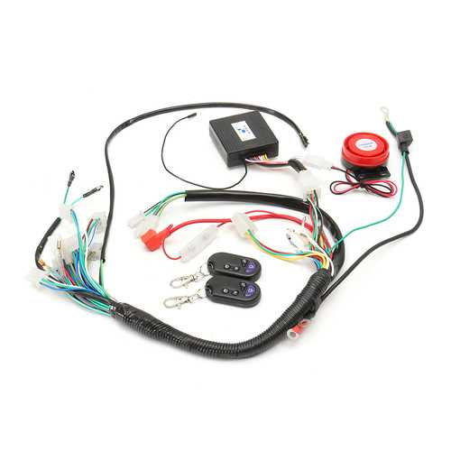 Wiring Harness Start Switch Coil Loom Remote Speaker 50cc 70cc 125cc Quad ATV Bike