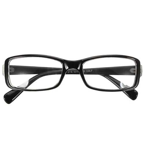 Colorful PC Full Rim Glass Plain Eyeglasses Anti-UV Fashion Computer Goggles Eyewear Unisex