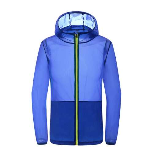 Outdoor Movement Jackets Skin Windbreaker Speed Drying Sun Protection Camping Hiking Clothing