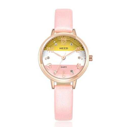 Fashion Women Quartz Watch Casual Ladies Rhinestones Wrist Watch