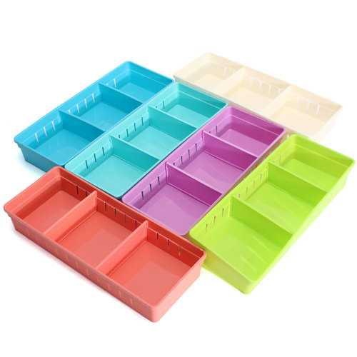 Adjustable Makeup Storage Box Drawer Home Kitchen Office Supplie Pencil Jewelry Organizer