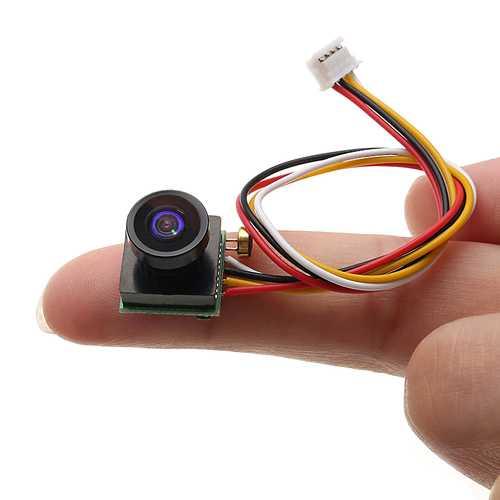 1/4 CMOS 600TVL 1.8mm FOV 170 Degree Wide Angle Mini FPV Camera--pal/NTSC 5V-12V Step Down Regulator