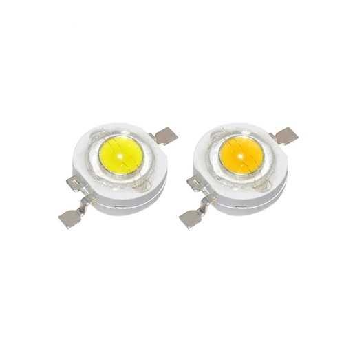 1W High Power LED Diodes DIY Bulb Chip Bead 3.4V for Spot Flood Light