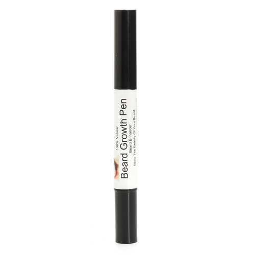 3pcs Natrual Beard Growth Pen Facial Hair Mustache Sideburns Eyebrow Enhancer Cream