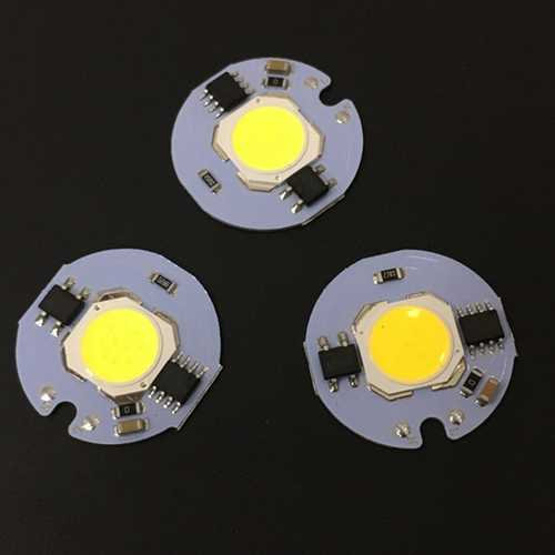 27*27MM 10W AC220V 1000LM LED Smart IC COB Bead