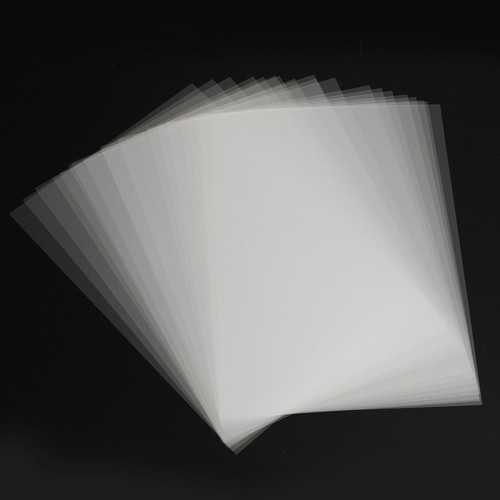 20Pcs A4 Inkjet Film Screen Printing Paper Transparent PCB Print Stencil