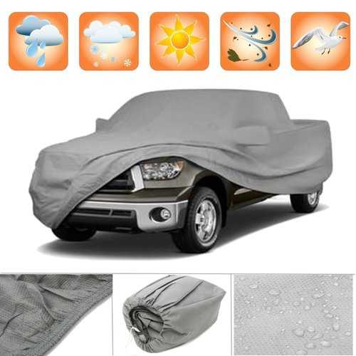 3 Layer Premium Truck Cover Outdoor Tough Waterproof No-Scratch Lining Pickups