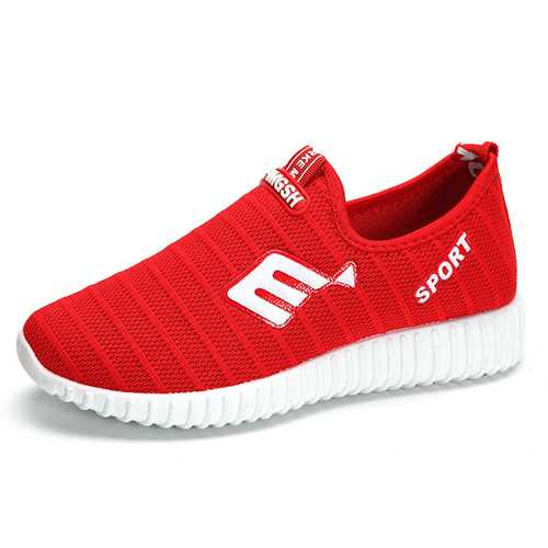 Breathable Mesh Casual Sport Slip On Outdoor Shoes